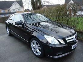 image for Mercedes-Benz E Class 2.1CDI E220 Blue F (s/s) SE Edition 125 Coupe 2d 2143cc 7G