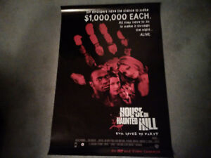 Movie Psoter - House on Haunted Hill - Evil Loves to Party