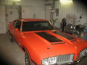1970 olds w31 4sp  matching no.