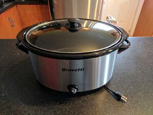 Bravetti slow cooker
