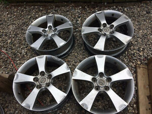 "17"" Mazda Alloy Rims"