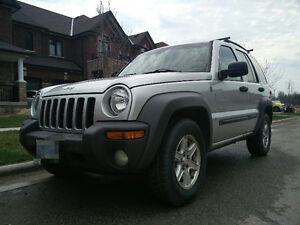 *REDUCED*--2004 Jeep Liberty 4x4 SUV, ASIS 1000OBO