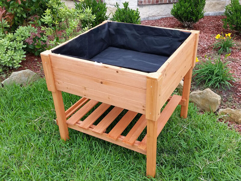 How to Build a Portable Raised Garden Bed eBay