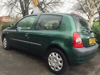 Renault Clio 2002 53k mileage very very cheap Cheap insurance