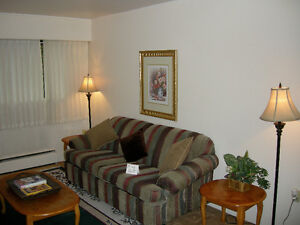ONE BEDROOM FULLY FURNISHED SUITE NEAR THE WATER FRONT