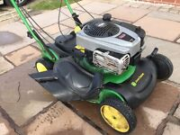 John Deere js63v petrol lawnmower