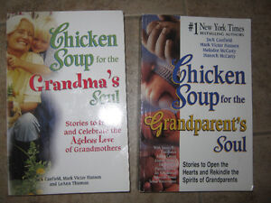 2 Chicken Soup books, one for Grandma , other for Grandparents St. John's Newfoundland image 1