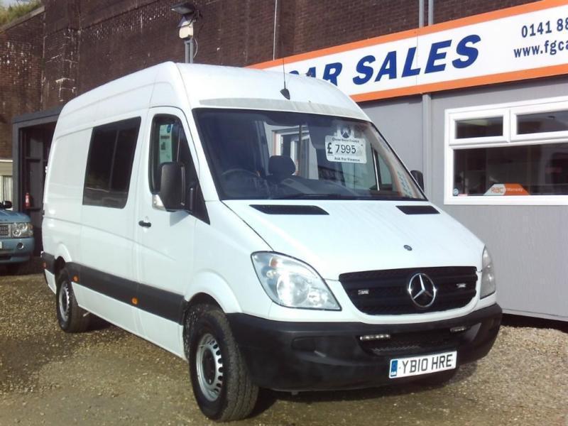 Mercedes-Benz Other NO VAT SPRINTER 313 CDI,6 SEATER,WELFARE-MESS-CREW-MOTORHOME