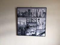 Nyc canvas frame