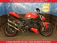 DUCATI STREETFIGHTER 1099CC CARBON EXHAUSTS MOT 06/18 2009