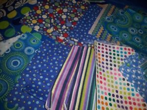 HUGE lot of Quilting fabric Squares Fabric Swatches ETC