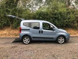 2013 Fiat Qubo 1.4 8V MyLife 5dr RIDE UPFRONT WHEELCHAIR ACCESSIBLE VEHICLE 5...