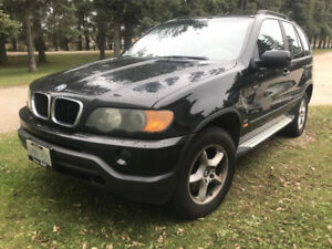 BMW X5 3.0I ONE OWNER, NO ACCIDENTS, WINTER TIRES