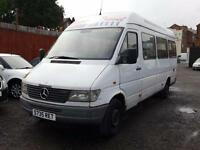 Mercedes-Benz SPRINTER 310D LWB + 17 SEATER MINIBUS + HIGH ROOF 2.9 TD