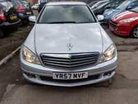 Mercedes-Benz C200 2.1TD auto Elegance 4 DOOR - 2007 57-REG - 9 MONTHS MOT