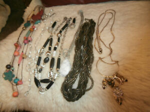 Necklaces $2.50