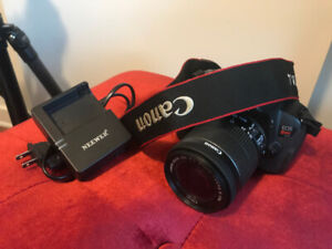 Canon EOS Rebel T4i DSLR with 18-55mm EF-S IS - Great Condition