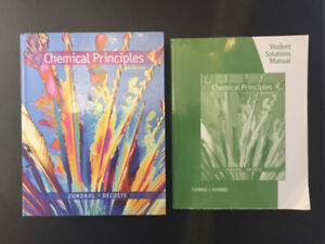 Chemical Principles Textbook & Solution's Manual (8th)