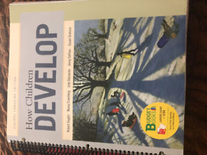 How Children Develop - Fourth Canadian Ed ( Psychology Texbook)
