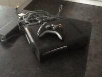 Xbox 360 Elite, Black, 120GB with Kinect