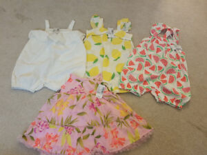 NEW Baby Girl Clothing (size 9-12 months)