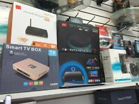 Smart tv boxes full programmed just plagues and play