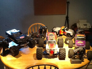 Huge rc lot traxxas t max. Traxxas stampede cen mini madness