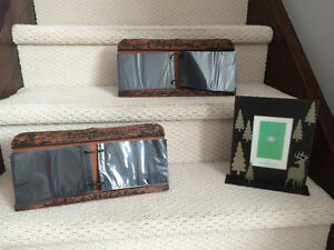 Outdoorsy picture frames