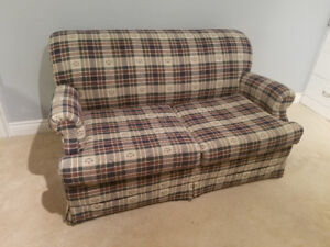 """Narrow 56"""" x 34"""" Love Seat / Pull Out Couch / Sofa Bed"""