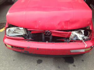 REDUCED Need Gone: 97 VW Jetta, for parts or projecte