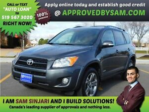 RAV4- HIGH RISK LOANS - LESS QUESTIONS - APPROVEDBYSAM.COM Windsor Region Ontario image 1