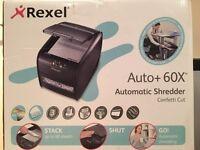 FOR SALE - Shredder - Rexel Auto+ 60X Automatic Shredder Confetti Cut