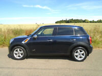 MINI COUNTRYMAN 1.6 COOPER D (CHILI) ALL4 4X4 5DR COSMIC BLUE - CREAM LTHR