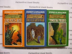 """""""The Chronicles of Thomas Covenant"""" by: Stephen R. Donaldson"""