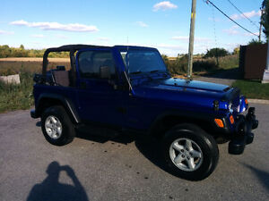 2002 Jeep TJ Sports Cabriolet