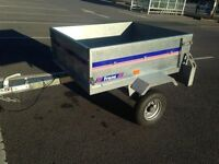 FRANC GE120 GALVANISED CAMPING TRAILER (LIKE NEW)