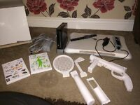Wii and wii fit bundle