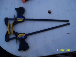 2 Quick Grip clamps for sale
