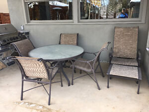 Tropitone Patio Dining Set & Recliner