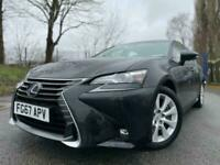 2017 67 LEXUS GS 2.5 300H EXECUTIVE EDITION 4D 178 BLACK-FSH+BLUETOOTH+CLIMATE+