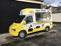 Ford Transit Soft Ice Cream Van Carpigiani Icecream Machine