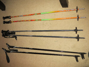 100cm Scott and Gipron DH poles -$15 per pair and 95cm excel x/c