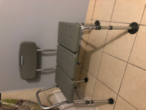 Bath seat plus transfer bench in good conditions