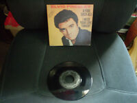 elvis a fool sush as i/i need your love tonight 45 tour Lp 1958