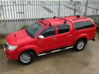 2011 TOYOTA HILUX DOUBLE CAB D/C 3.0 D4-D INVINCIBLE AUTO 4X4 RED