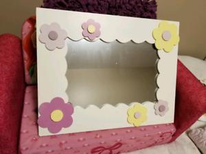 Mirror for little girl's room