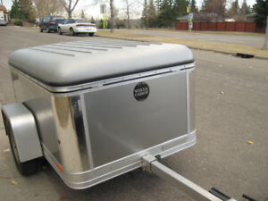L@@K AT THIS LITTLE WELLS CARGO MPT461 TRAILER L@@K