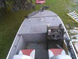 70hp outboard motor and boat forsale