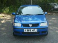 2001 Volkswagen Polo 1.4 E AUTOMATIC PETROL 5 DOOR HATCHBACK Petrol Automatic