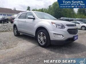 2017 Chevrolet Equinox Premier  - Certified - Leather Seats - $1